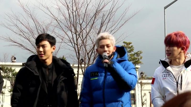 [VK][171125] MONSTA X fancam (Jooheon fodus) @ Mini-fanmeeting Music Core