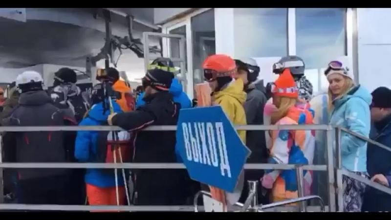 Эльбрус Открытие сезона 7 ноября 2017