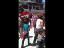 Протесты в Ракке против курдо-американской оккупации 16 апреля 2018