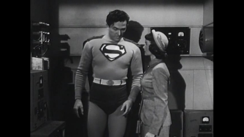 Атомный человек против Супермена. 1950. 12 серия