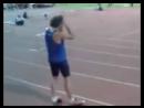 руске прыгун в высоту Иван Ухов, дважды чемпион Европы, на официальных соревнованиях