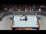 WWE 2K18 Dream Match Seth Rollins vs John Cena