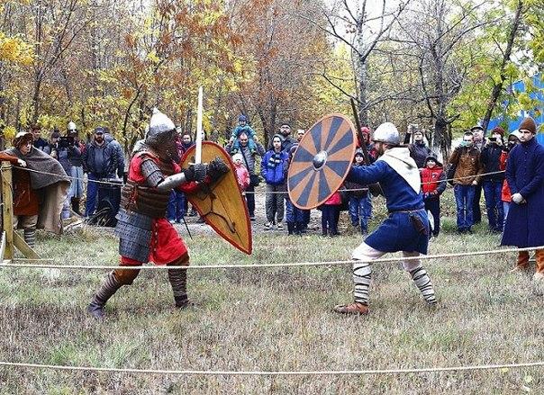 Вчера прошёл турнир исторического фехтования!