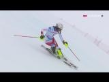 Горные лыжи / Кубок Мира 2017-18 / Санкт-Мориц / Женщины. Альпийская комбинация / Евроспорт