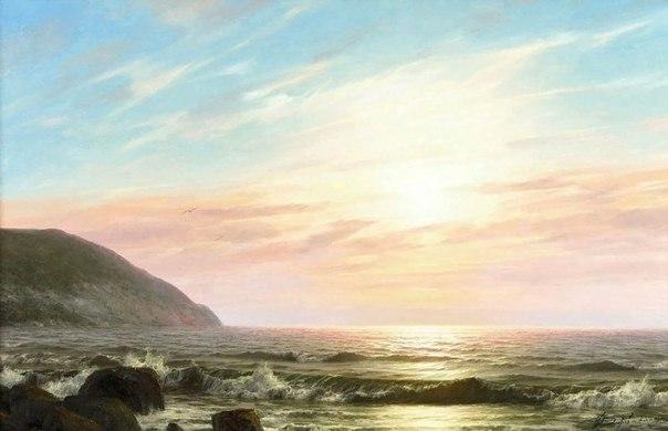 Художник Валерий Черненко родился в 1963 году в Москве, в семье моряка.