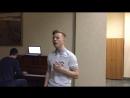 Дмитрий Коверзнев cover (Пелагея - Ой, да не вечер)
