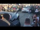 Supra and GTR anti-lag battle