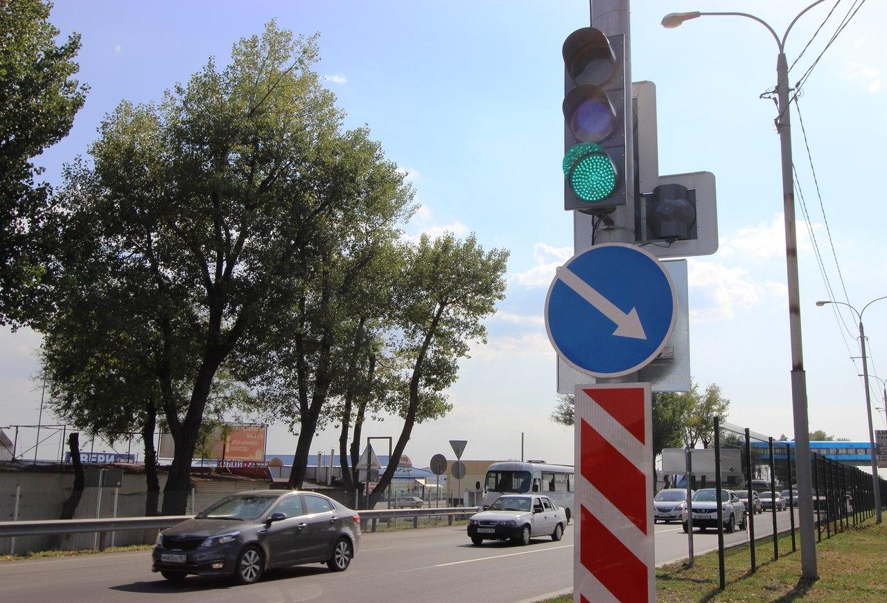 ФКУ Упрдор «Азов» : На федеральных трассах в Ростовской и Волгоградской областях установили 8 новых светофорных комплексов