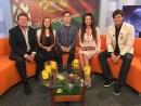 Праздничная передача на ОНТ с артистами Зеленого яблока 3 июля 2017