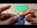 Узор спицами «Веточки Весны», видео урок