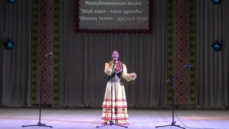 Эльвина Газизова. Буздякский район, с. Буздяк