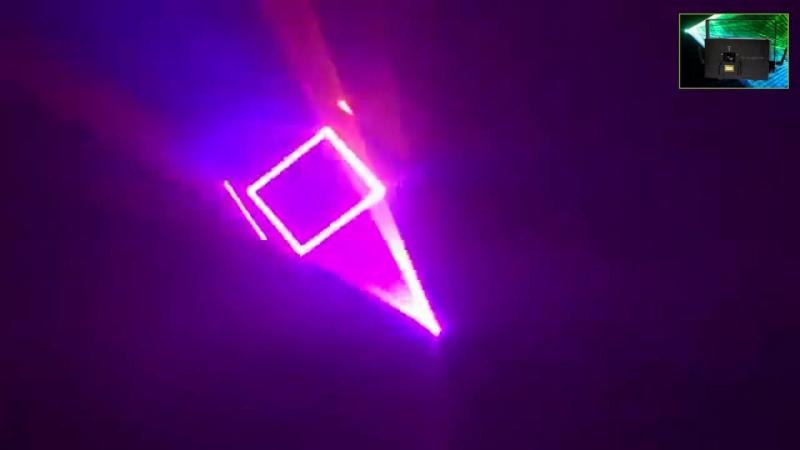 купить лазер для шоу 1w