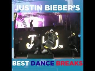 Justin's best dance breaks