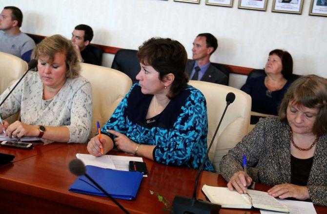 Члены молодежного парламента учатся стратегическому планированию