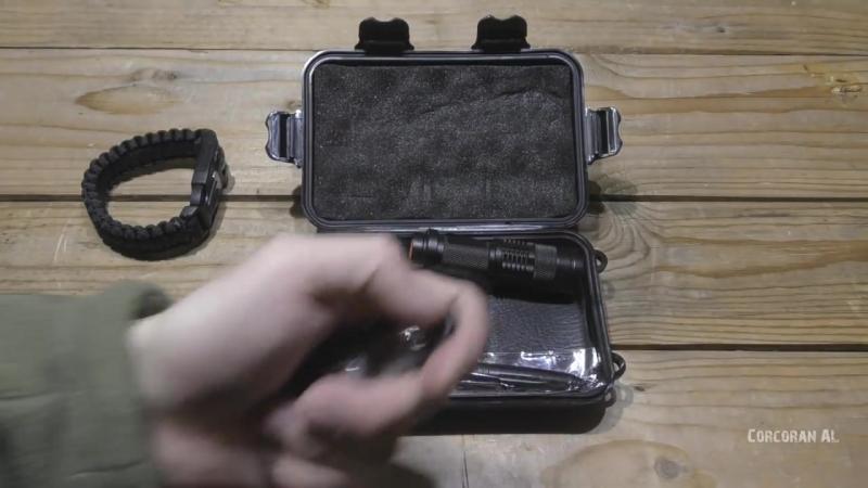 Набор выживания-НАЗ-Survival Kit-Карбоновый кошелек