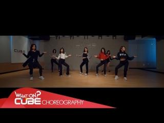CLC - Black Dress Dance Practice Ver.