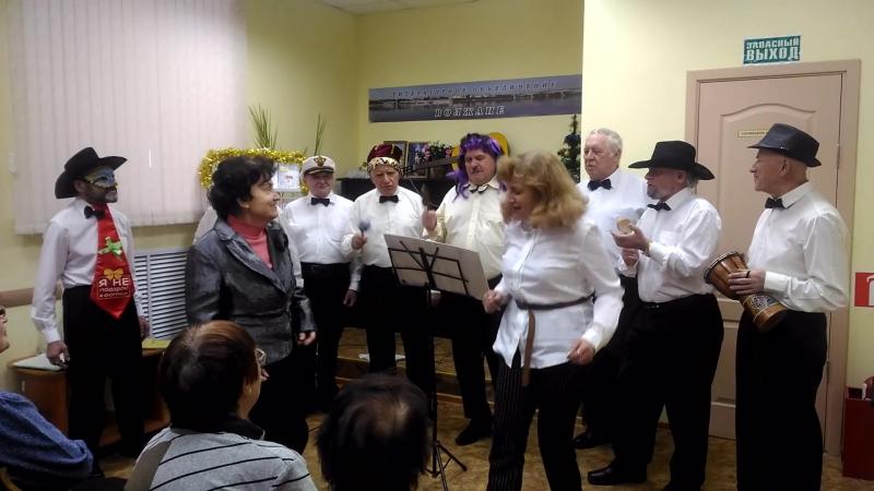 Мужской хор Волгари , исполняют песню Ромашка белая. (собственного сочинения)