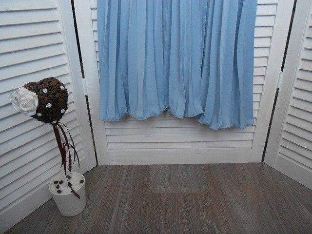 Плиссированная юбка в нежно голубом цвете