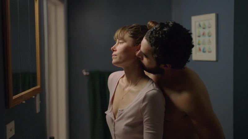 Джессика Бил ( Jessica Biel) голая в сериале Грешница