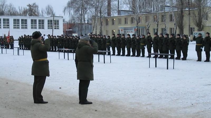 Присяга 10.12.17 60 Ракетная таманская дивизия (Сетлый)