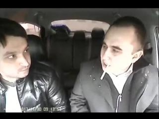 Очень хотел курить в такси