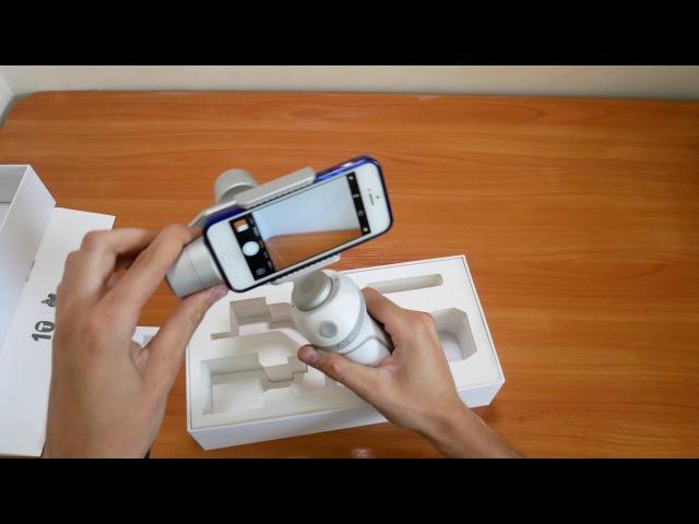 Обзор стабилизатора FEIYU TECH VIMBLE для телефона