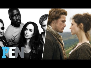 Outlander Cast Discusses Season 3, The Defenders Are Officially Back! | EWS | Entertainment Weekly