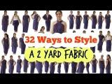 DIY 32 Ways to Style a 2 Yard Fabric