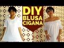 Bluza cigana Customização T-hirt Moda Boho
