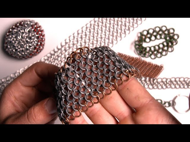 How to make chainmail - European 4-1