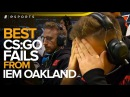 Best Fails and Funny Moments from IEM Oakland 2017 (CS:GO)