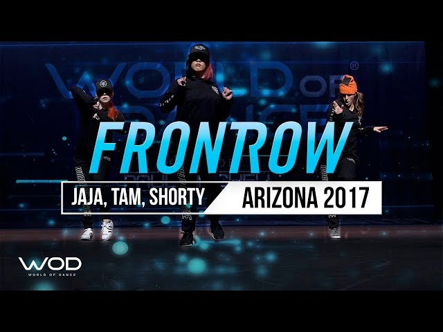 Jaja Vankova, Tam Rapp, Shorty | WOD All Stars | FrontRow | World of Dance Arizona 2017 | WODAZ17