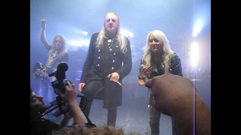 Saxon - Denim and Leather (with Doro) - London, February 7, 2015