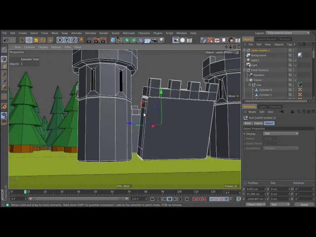 Tutorial: Create a Dynamic Catapult Animation in Cinema 4D: Part 3