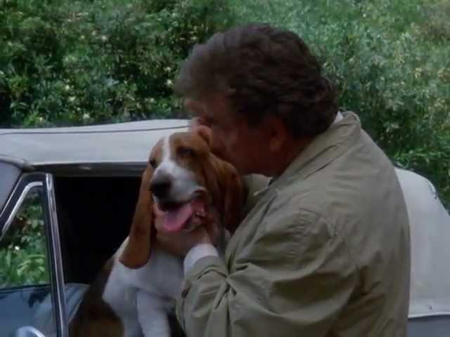 Columbo and his dog