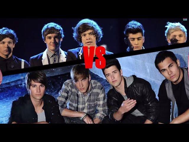 One Direction Vs. Big Time Rush / TKM