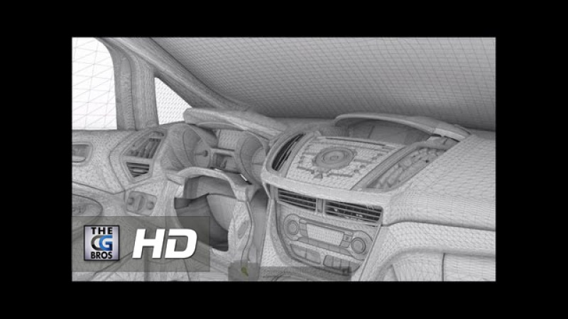CGI VFX Making of : Ford Cmax TVC by Analog Studios