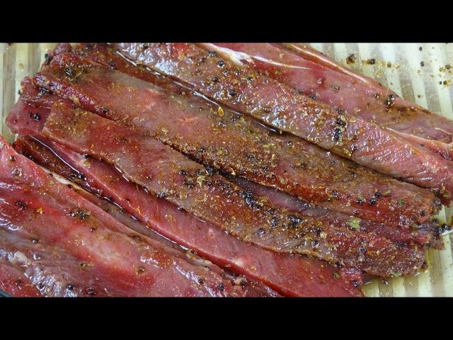 Как сделать южноафриканские джерки (Chilli Bites). Первый этап: посол мяса.