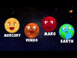 Planeten Lied Vorschulvideo Baby-Songs Learn Solar System Planets Rhyme Children Song