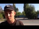 Реакция оборзевшего полицая на сорванную взятку в зоне АТО