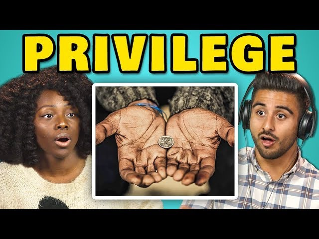 COLLEGE KIDS REACT TO PRIVILEGE