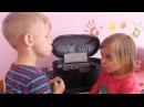 детское видео дети приколы дети красятся косметикой
