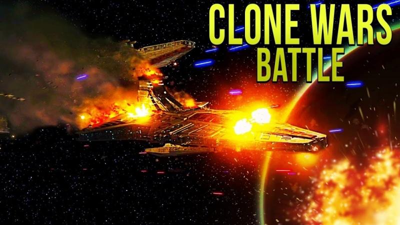 [Captain Jack] CLONE WARS FLEET vs FIRST ORDER - Star Wars Empire at War - Yoden Mod » Freewka.com - Смотреть онлайн в хорощем качестве