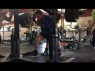 Эндрю Хаус - присед 378,5 кг в 19 лет