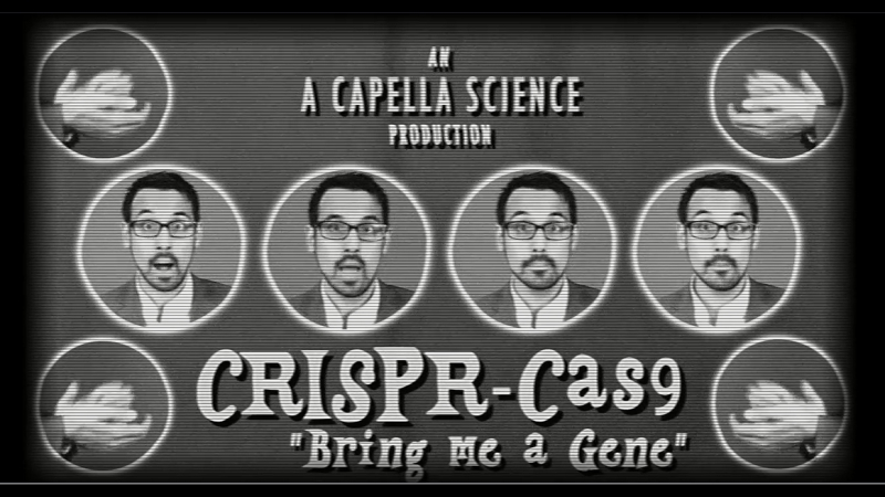 CRISPR-Cas9 (Mr. Sandman Parody) - A Capella Science