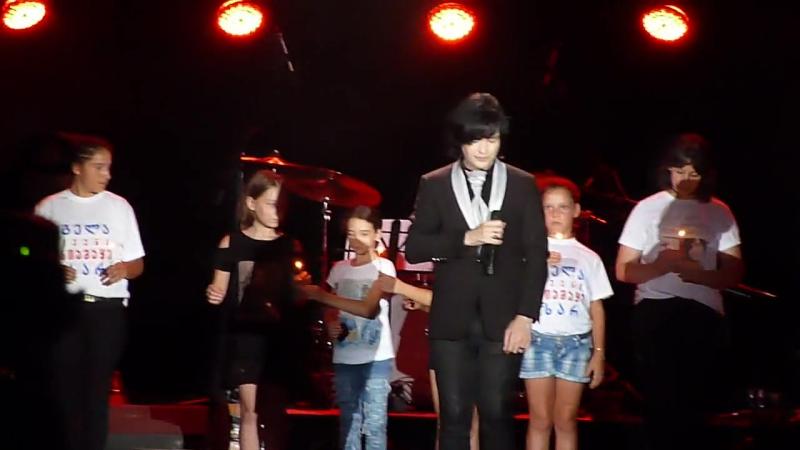 Гела Гуралиа Herio bichebo Концерт в Батуми 29 07 2017