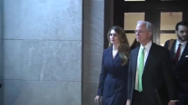 Hope Hicks refuses to answer U.S. House investigators' questions about Trump administration