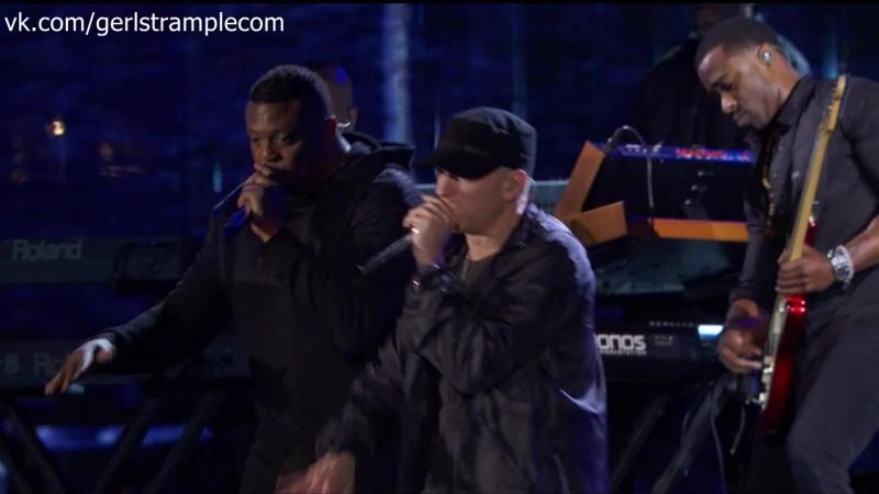 Eminem - Guts Over Fear, Not Afraid, Lose Yourself on The Concert for Valor (em50.ru)
