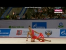 Арина Аверина - лента (квалификация)Гран-При, Москва 2018