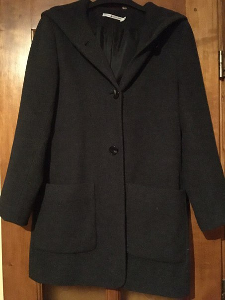Продам пальто, так як не підійшов розмір, шерстяне, сірий гарний колір